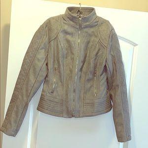 Gray Suede Jacket by BB Dakota